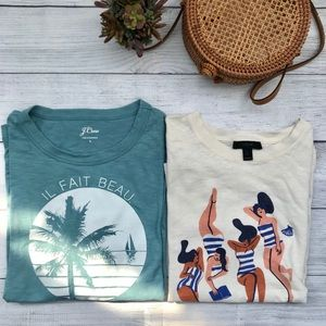 Bundle J.Crew Women's T-Shirts
